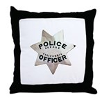 Newark Police Officer Throw Pillow