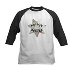 Newark Police Officer Kids Baseball Jersey