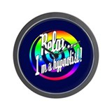 Relax - I'm a hypnotist! Wall Clock
