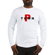 P TOWN Long Sleeve T-Shirt
