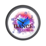 Love Dance Forever Wall Clock