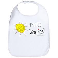 No Worries Snap Bib