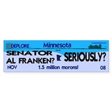 Al Franken is a thief! (bumper sticker)