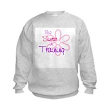 Big sister in training Sweatshirt