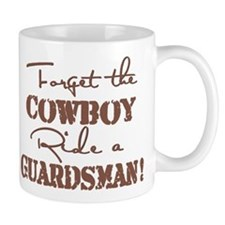 Ride a Guardsman Mug