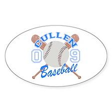 Cullen Baseball 09 Oval Sticker