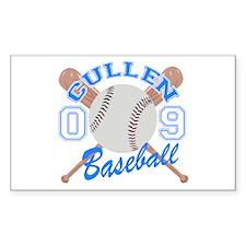 Cullen Baseball 09 Rectangle Sticker