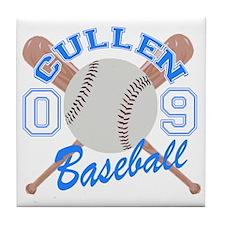 Cullen Baseball 09 Tile Coaster