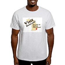 Visit Detroit, Its Not as Bad T-Shirt