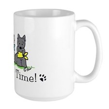 Cute Scottie art Mug