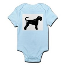 Black Russian Terrier Infant Creeper