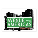 AVENUE OF THE AMERICAS, MANHATTAN, NYC Postcards (
