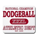 Dodgeball Mousepad