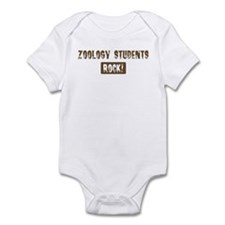 Zoology Students Rocks Infant Bodysuit