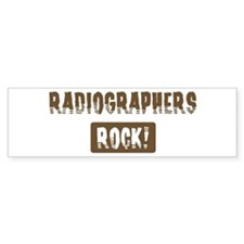 Radiographers Rocks Bumper Bumper Sticker