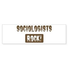 Sociologists Rocks Bumper Bumper Stickers