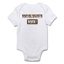 Sociologists Rocks Infant Bodysuit