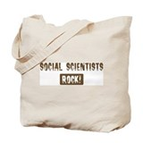 Social Scientists Rocks Tote Bag