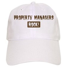 Property Managers Rocks Baseball Cap
