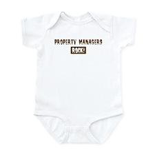 Property Managers Rocks Infant Bodysuit