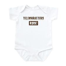 Telemarketers Rocks Infant Bodysuit