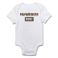 Pawnbrokers Rocks Infant Bodysuit