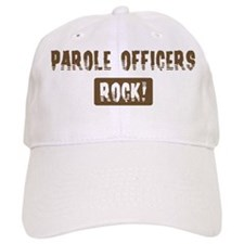 Parole Officers Rocks Baseball Cap