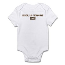 Medical Lab Technicians Rocks Infant Bodysuit