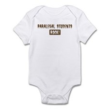 Paralegal Students Rocks Infant Bodysuit