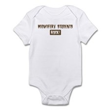 Midwifery Students Rocks Infant Bodysuit