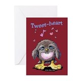 Tweet-heart Bird Greeting Cards (Pk of 10)