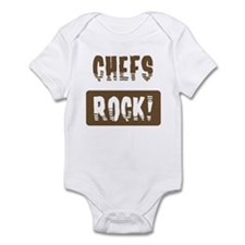 Chefs Rocks Infant Bodysuit