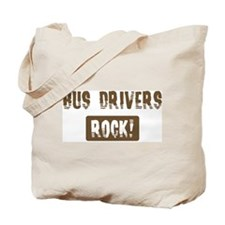 Bus Drivers Rocks Tote Bag