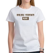 Biology Students Rocks Tee