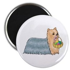 Yorkshire Terrier Easter Magnet