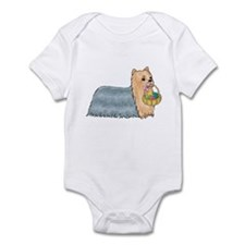 Yorkshire Terrier Easter Infant Bodysuit