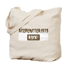 Acupuncturists Rocks Tote Bag