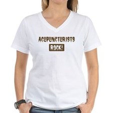 Acupuncturists Rocks Shirt