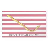 First Navy Jack-Dont Tread On Me Decal