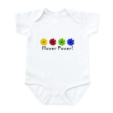 Flower Power Daisy Infant Creeper