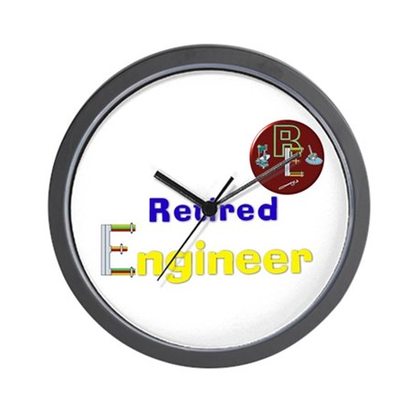 Retired Engineer. Wall Clock