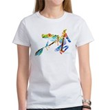 Crazy Tree Frogs Blue Tee