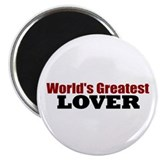 "World's Greatest Lover 2.25"" Magnet (10 pack)"