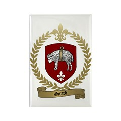 GIRARD Family Crest Rectangle Magnet (100 pack)