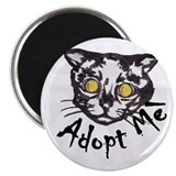 Unique Adopt me cat Magnet