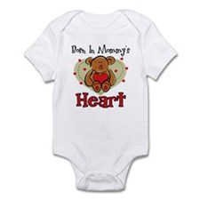 Born In Mommy's Heart Infant Bodysuit