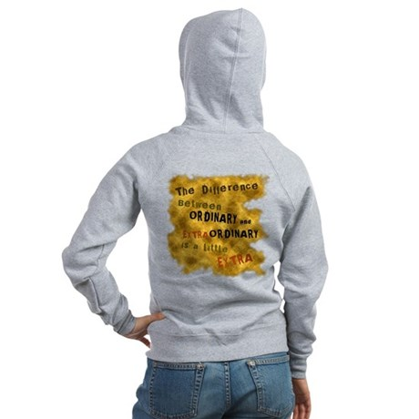 Extraordinary Women's Zip Hoodie