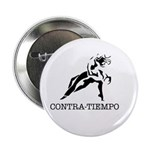 "Old School CONTRA-TIEMPO - 2.25"" Button"