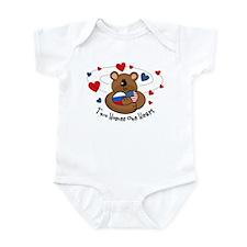 2 Homes1 Heart Russia Infant Bodysuit