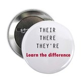 "Their There They're 2.25"" Button (10 pack)"